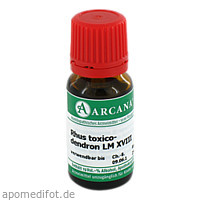 RHUS TOXICODENDRON LM 18, 10 ML, ARCANA Dr. Sewerin GmbH & Co. KG