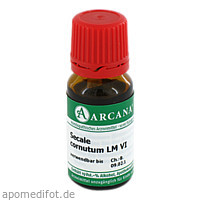 SECALE CORNUTUM ARCA LM 6, 10 ML, ARCANA Dr. Sewerin GmbH & Co. KG