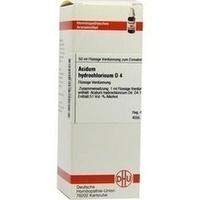 ACIDUM HYDROCHL D 4, 50 ML, Dhu-Arzneimittel GmbH & Co. KG