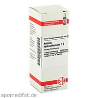 ACIDUM HYDROCHL D 6, 20 ML, Dhu-Arzneimittel GmbH & Co. KG