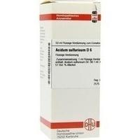 ACIDUM SULF D 6, 50 ML, Dhu-Arzneimittel GmbH & Co. KG
