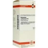 AMMONIUM CARB D 6, 50 ML, Dhu-Arzneimittel GmbH & Co. KG