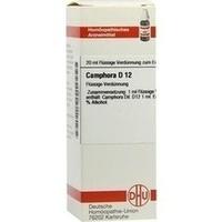 CAMPHORA D12, 20 ML, Dhu-Arzneimittel GmbH & Co. KG