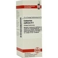 CENTAURIUM ERYTHRAEA D 2, 20 ML, Dhu-Arzneimittel GmbH & Co. KG