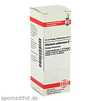 CHININUM SULF D12, 20 ML, Dhu-Arzneimittel GmbH & Co. KG