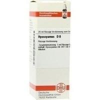 HYOSCYAMUS D 8, 20 ML, Dhu-Arzneimittel GmbH & Co. KG