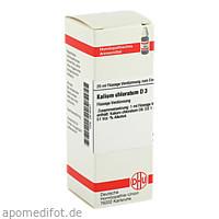 KALIUM CHLORAT D 3, 20 ML, Dhu-Arzneimittel GmbH & Co. KG