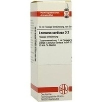 LEONURUS CARDIACA D 2, 20 ML, Dhu-Arzneimittel GmbH & Co. KG