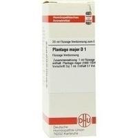 PLANTAGO MAJOR D 1, 20 ML, Dhu-Arzneimittel GmbH & Co. KG