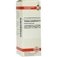 THALLIUM MET D12, 20 ML, Dhu-Arzneimittel GmbH & Co. KG