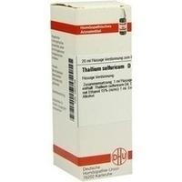 THALLIUM SULF D12, 20 ML, Dhu-Arzneimittel GmbH & Co. KG