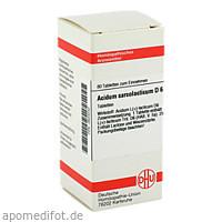 ACIDUM SARCOLACTIC D 6, 80 ST, Dhu-Arzneimittel GmbH & Co. KG