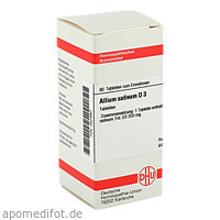 ALLIUM SATIVUM D 3, 80 ST, Dhu-Arzneimittel GmbH & Co. KG