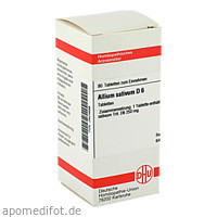 ALLIUM SATIVUM D 6, 80 ST, Dhu-Arzneimittel GmbH & Co. KG