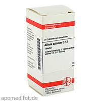 ALLIUM SATIVUM D12, 80 ST, Dhu-Arzneimittel GmbH & Co. KG