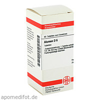 ALUMEN D 6, 80 ST, Dhu-Arzneimittel GmbH & Co. KG