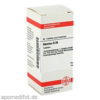 ALUMINA D30, 80 ST, Dhu-Arzneimittel GmbH & Co. KG