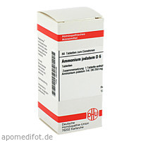 AMMONIUM JODAT D 6, 80 ST, Dhu-Arzneimittel GmbH & Co. KG