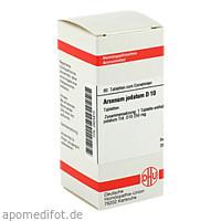 ARSENUM JODAT D10, 80 ST, Dhu-Arzneimittel GmbH & Co. KG