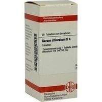 AURUM CHLORATUM D 4, 80 ST, Dhu-Arzneimittel GmbH & Co. KG