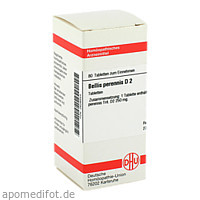 BELLIS PERENNIS D 2 Tabletten, 80 ST, DHU-Arzneimittel GmbH & Co. KG