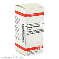 CARDUUS MAR D 2, 80 ST, Dhu-Arzneimittel GmbH & Co. KG