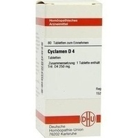 CYCLAMEN D 4, 80 ST, Dhu-Arzneimittel GmbH & Co. KG