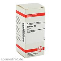 DAMIANA D 3, 80 ST, Dhu-Arzneimittel GmbH & Co. KG