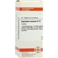 EQUISETUM ARV D12, 80 ST, Dhu-Arzneimittel GmbH & Co. KG