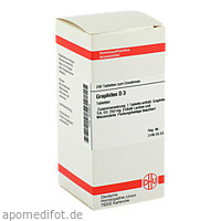 GRAPHITES D 3, 200 ST, Dhu-Arzneimittel GmbH & Co. KG