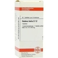 HEDERA HELIX D12, 80 ST, Dhu-Arzneimittel GmbH & Co. KG