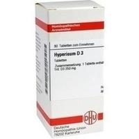 HYPERICUM D 3, 80 ST, Dhu-Arzneimittel GmbH & Co. KG