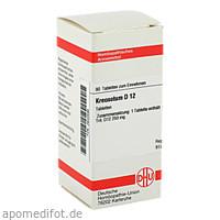 KREOSOTUM D12, 80 ST, Dhu-Arzneimittel GmbH & Co. KG