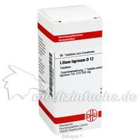 LILIUM TIGRIN D12, 80 ST, Dhu-Arzneimittel GmbH & Co. KG