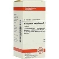 MANGANUM MET D 6, 80 ST, Dhu-Arzneimittel GmbH & Co. KG
