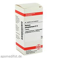 NATRIUM PHOS D12, 80 ST, Dhu-Arzneimittel GmbH & Co. KG