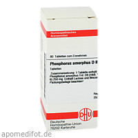 PHOSPHORUS AMORPH D 8, 80 ST, Dhu-Arzneimittel GmbH & Co. KG
