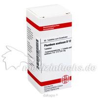 PLUMBUM ACET D12, 80 ST, Dhu-Arzneimittel GmbH & Co. KG