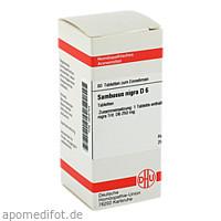SAMBUCUS NIGRA D 6, 80 ST, Dhu-Arzneimittel GmbH & Co. KG