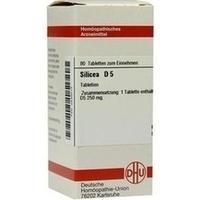 SILICEA D 5, 80 ST, Dhu-Arzneimittel GmbH & Co. KG