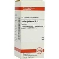 SULFUR JODAT D12, 80 ST, Dhu-Arzneimittel GmbH & Co. KG