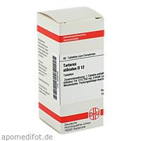 TARTARUS STIBIATUS D12, 80 ST, Dhu-Arzneimittel GmbH & Co. KG