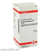 THALLIUM MET D 6, 200 ST, Dhu-Arzneimittel GmbH & Co. KG