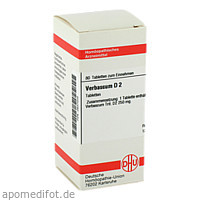VERBASCUM D 2, 80 ST, Dhu-Arzneimittel GmbH & Co. KG