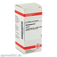 VERBASCUM D 6, 80 ST, Dhu-Arzneimittel GmbH & Co. KG