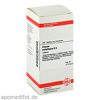 ZINCUM MET D 3, 200 ST, Dhu-Arzneimittel GmbH & Co. KG
