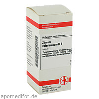 ZINCUM VALER D 8, 80 ST, Dhu-Arzneimittel GmbH & Co. KG