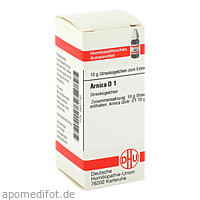 ARNICA D 1, 10 G, Dhu-Arzneimittel GmbH & Co. KG