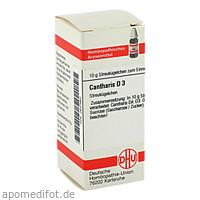 CANTHARIS D 3, 10 G, Dhu-Arzneimittel GmbH & Co. KG
