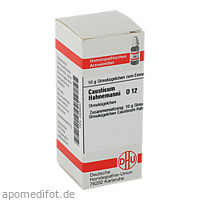 CAUSTICUM HAHNEM D12, 10 G, Dhu-Arzneimittel GmbH & Co. KG